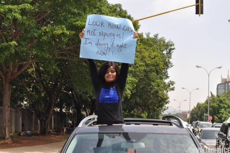 Beauty Queens Join NGO To Protest Against Rape In Convoy Of Exotic Cars In Abuja