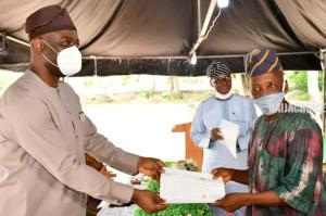 Governor Makinde Pays N180 Million Gratuity To 2013 Retirees In Oyo (Photos)