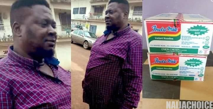 Man Finds N1.8 Million In The Cartorn Of Indomie He Bought & Returns It