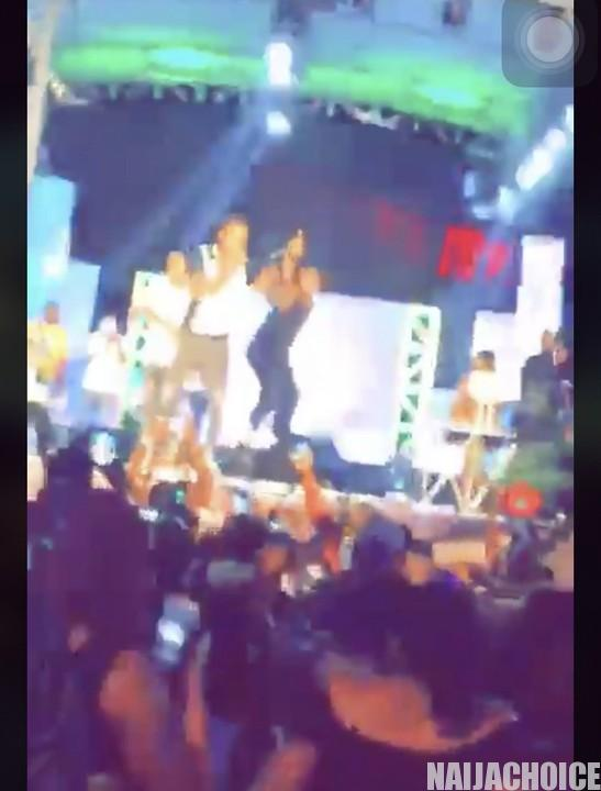 Naira Marley And Kim Oprah Flouts Social Distancing Rules, Hold Concert In Abuja