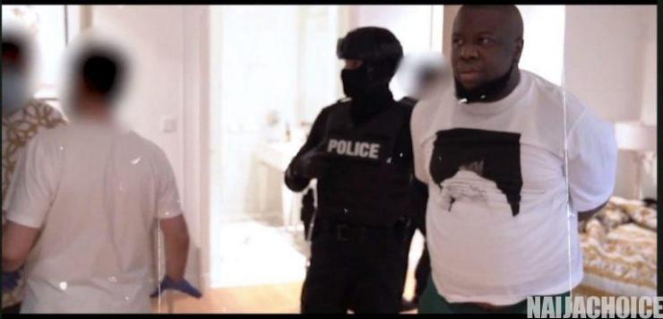 Video Showing How Hushpuppi Was Busted By Dubai Police, Seizes .9m Cash From Him