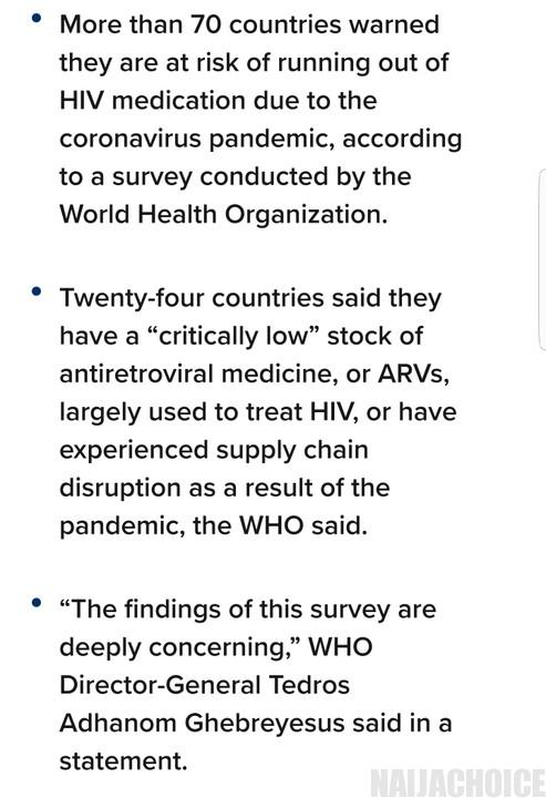 70 Countries Are Running Out Of HIV Drugs