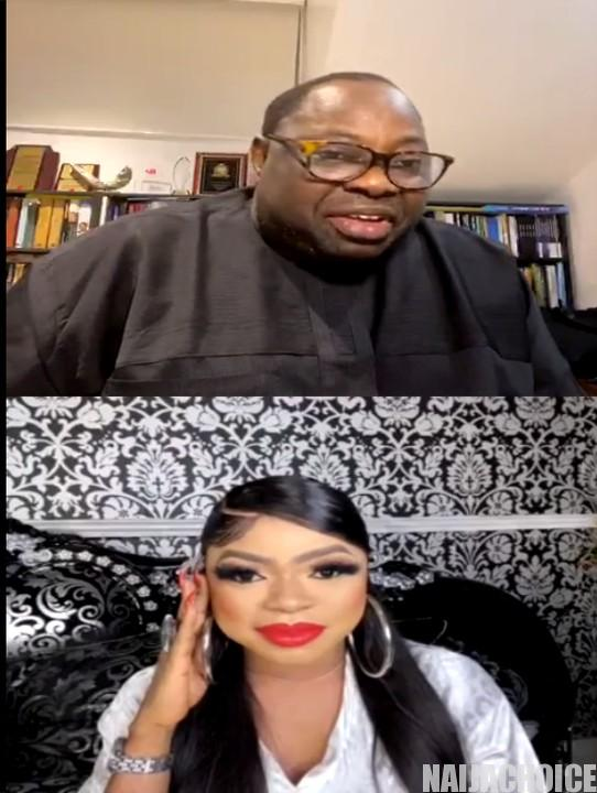 Are You A Bi-Sexual Or Homosexual? - Dele Momodu Asks Bobrisky (Video)