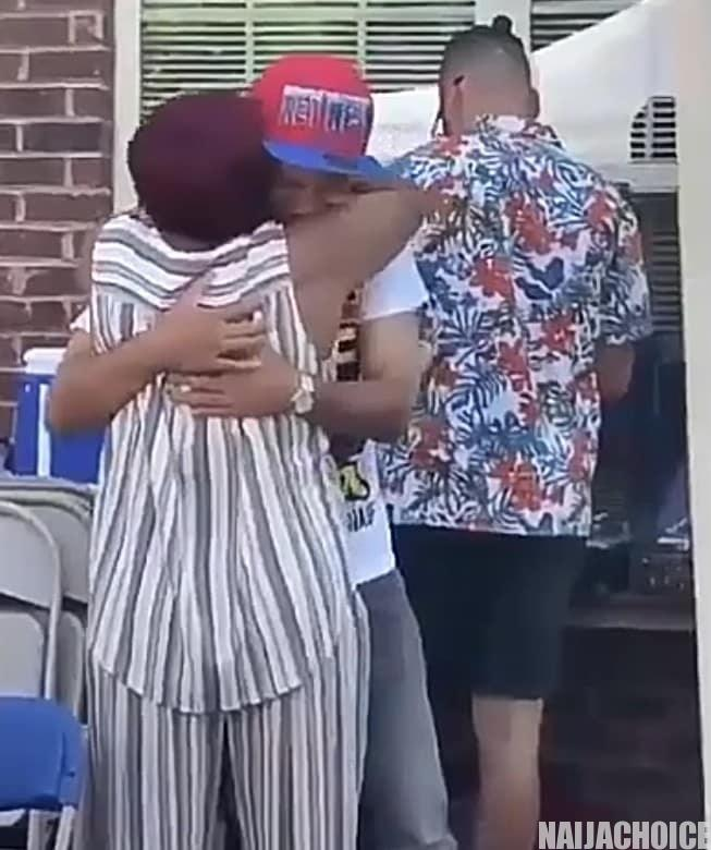 Emotional Moment Son Reunites With His Mother After 13 Years (Video)