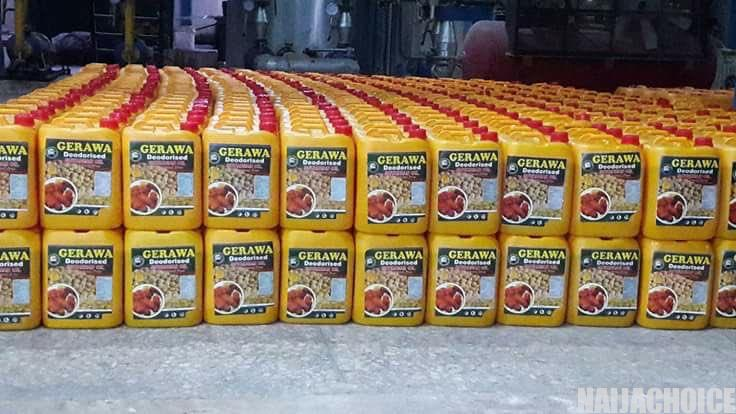 Inside Gerawa ' s  Million Soyabeans Oil Processing Factory In Kano (Pictures )