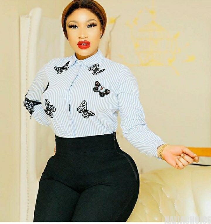 Kanyamata sellers come after Tonto Dikeh hours after calling out ladies who use their products
