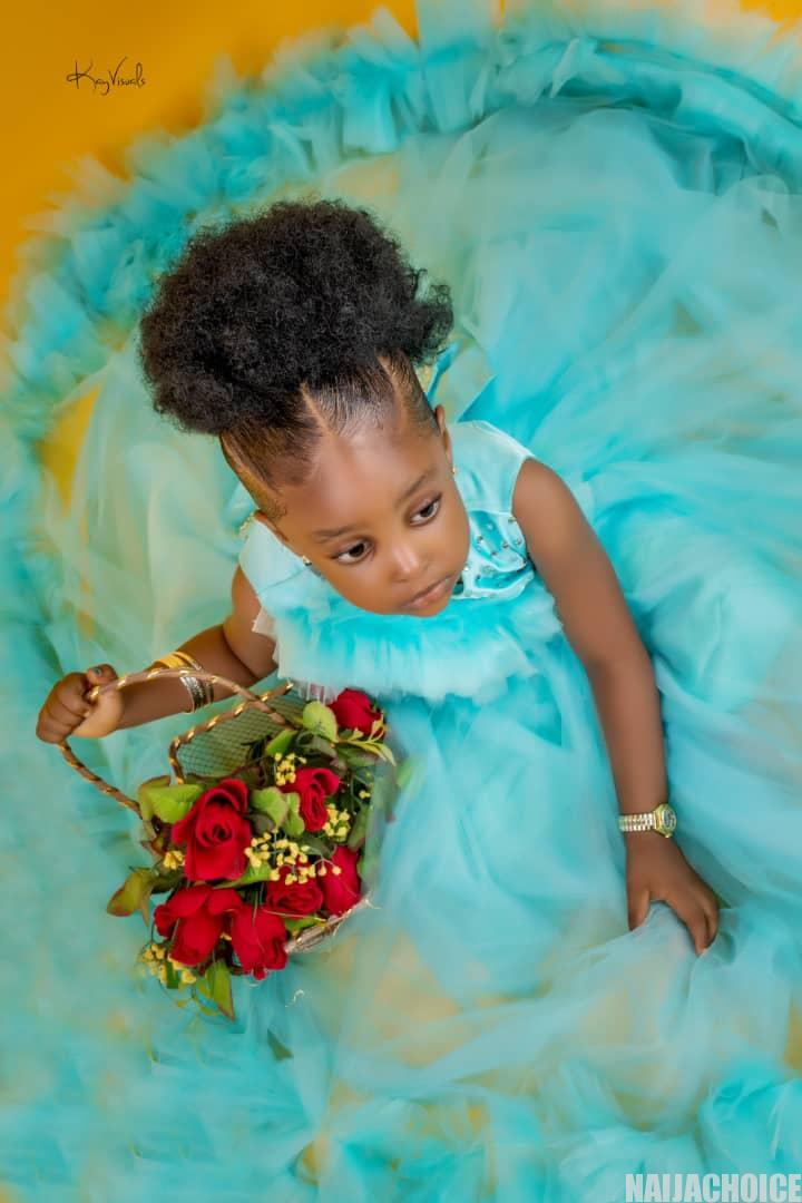 Nollywood Actress, Oge Aneke Celebrates Her Daughter's 3rd Birthday With Cute Photos