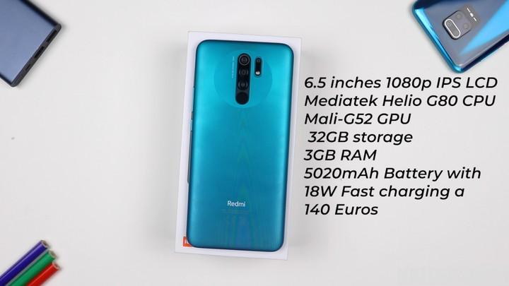 Redmi 9 Unboxing And Quick Review (Photos)
