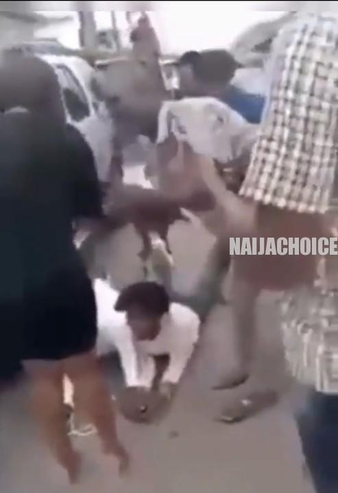 Man Lies On The Floor To Propose To His Girlfriend But She Turns Him Down (Video)