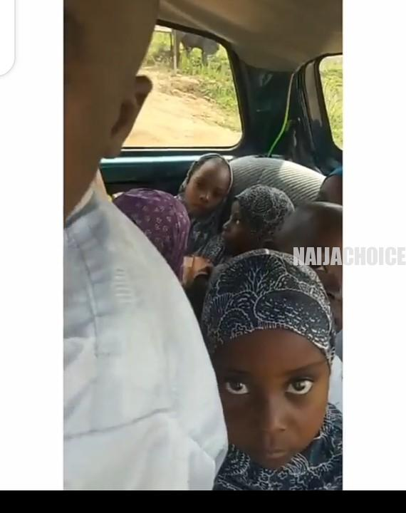 Meet The Nigerian Man With 4 Wives & 32 Children (Photo, Video)