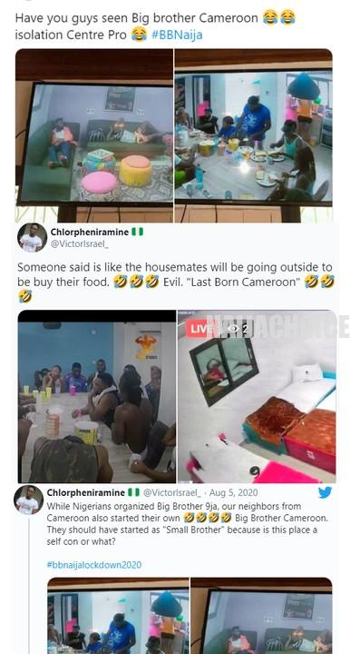 Nigerians Mock Cameroonians After Photos Of Their Version Of Big Brother Emerged (Photos, Vid)