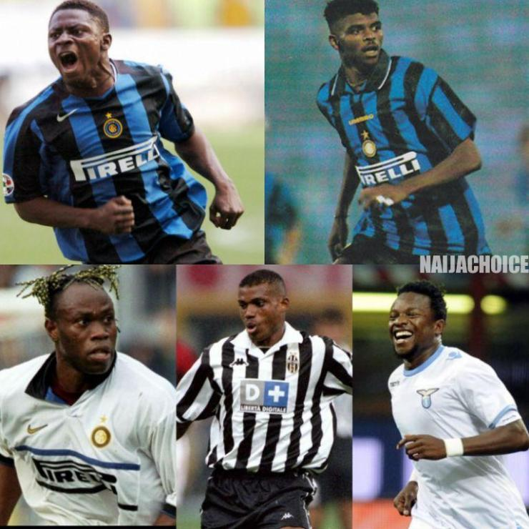 Top 5 Nigerian Footballers In Serie A History