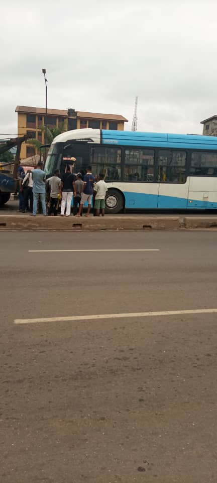 BRT Bus Kills 2 People In Lagos