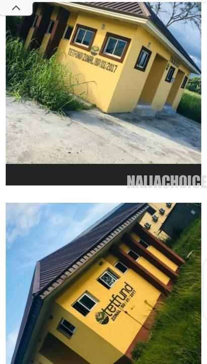 Delta State College Of Education Provost Builds 2 Toilets For N36 Million (Pics)