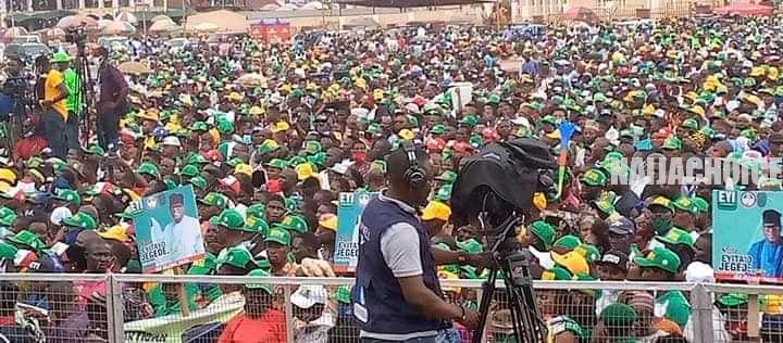 Pictures From Eyitayo Jegede / Gboluga Campaign Rally In Ondo