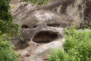 Pictures Of Rock With 'Human Face' In Kwara