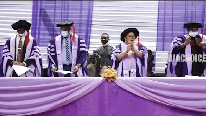 University Of Benin Matriculates 10, 018 Students For 2019/2020 Session (Photos )