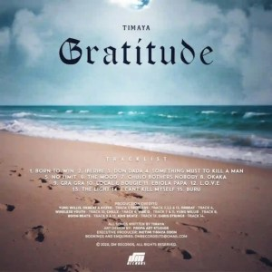 DOWNLOAD FULL ALBUM: Timaya - Gratitude