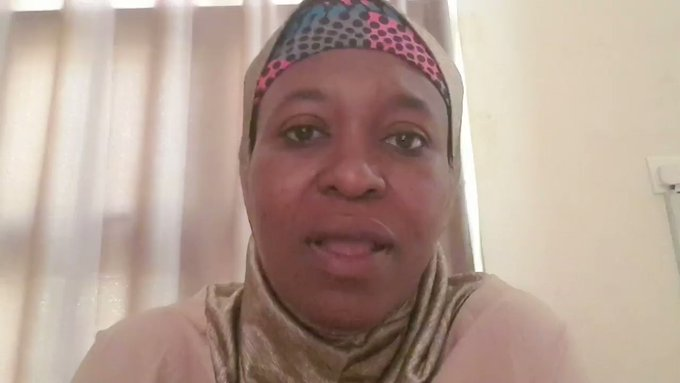 #EndSWAT: Aisha Yesufu Addresses Nigerian Youths (Video)