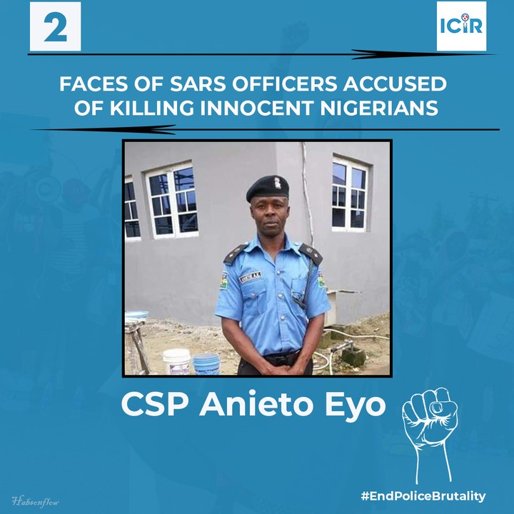 Faces Of 9 SARS Officers Accused Of Killing Innocent Nigerians (Photos)