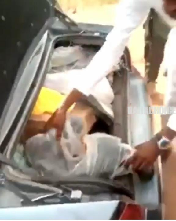 Pastor Caught With Looted Medical Equipment In Kogi (Video)