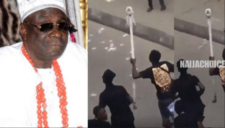 'The Returned Oba's Staff Is Fake' - Royal Prince Calls Out Oba Of Lagos (Video)