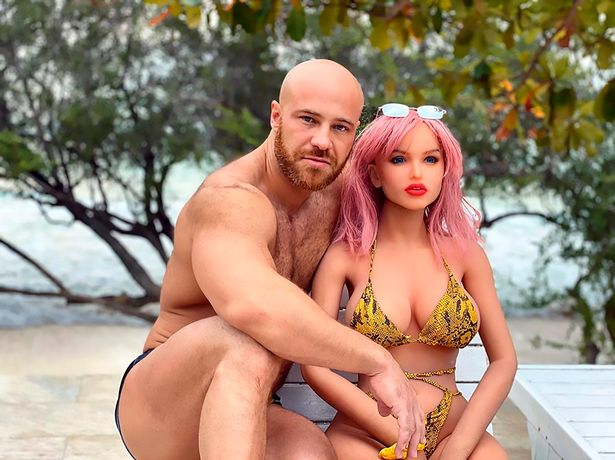 Asian Bodybuilder Weds His Sex Doll In Groundbreaking Ceremony (Photos)