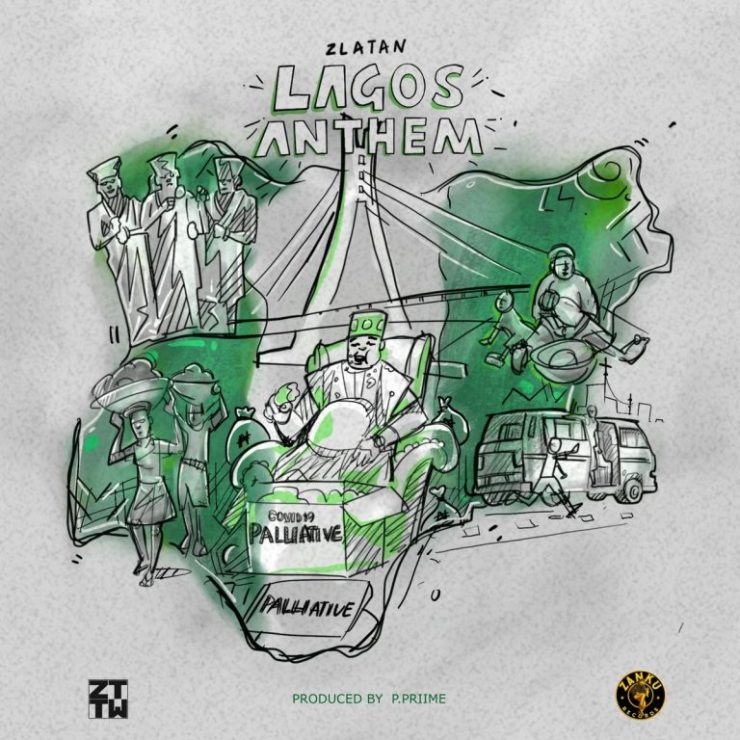 DOWNLOAD mp3: Zlatan - Lagos Anthem