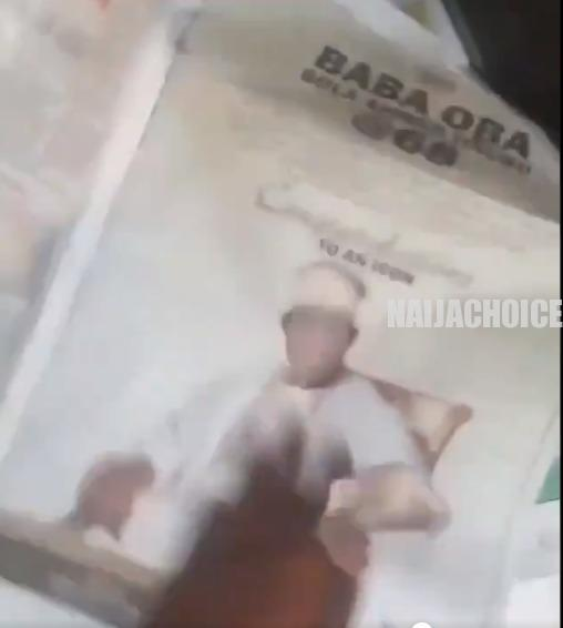 Suya Buyer Rejects Newspaper Wrap With Tinubu's Face (Video)
