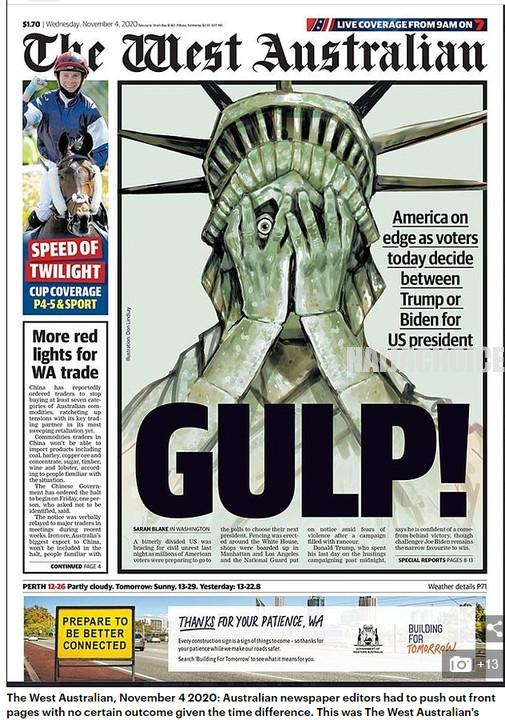 US Election: All Eyes On America; Front Pages Of Newspapers Across The World (Pics)