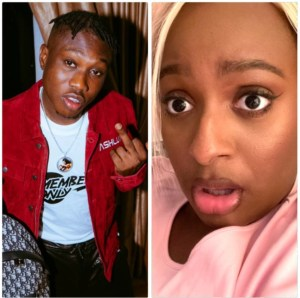 Zlatan Ibile Blocked Me On WhatsApp & Instagram For 10 Months Now- DJ Cuppy Cries Out