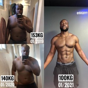 Man Shows His Amazing Body Transformation In Just 2 Years (Before & After Photos)