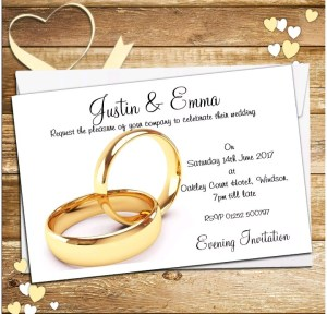 Why Does The Bride's Name Come First On A Wedding Invitation?