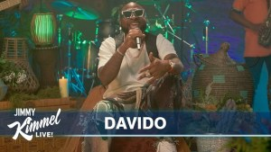 Davido performs Jowo and Assurance Medley on Jimmy Kimmel Live! (Video)