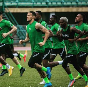 Super Eagles First Training Session At The Teslim Balogun Stadium (Photos, Video)