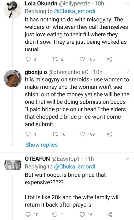 Man Cries Out As His Mother Gets Only ₦5000 From His Sister's ₦300,000 Bride Price