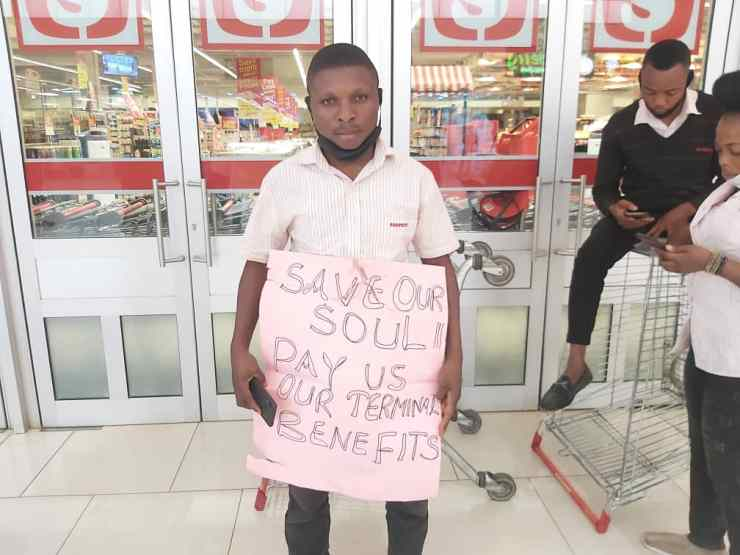 Why We Shutdown Shoprite Stores In Nigeria - Workers (Photos, Video)
