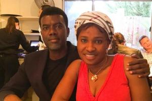 Reno Omokri's Wife, Tope Denies Being The Mother Of His New Baby