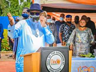 Governor Akeredolu Marks 100 Days Of Second Term With 100 Strides (Photos)