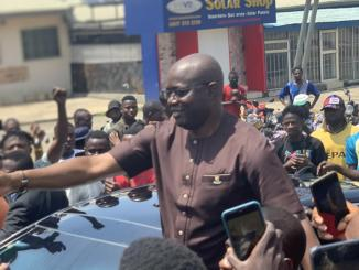 JUST IN: Oyo State Governor Joins June 12 Protesters In Ibadan
