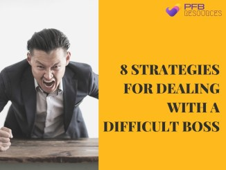 Strategies For Dealing With A Difficult Boss