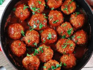 Tasty & Easy South African Meatball Recipe
