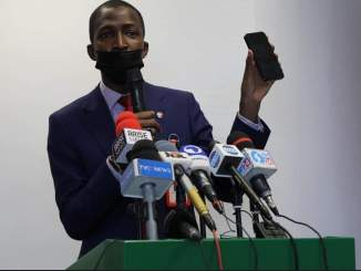 Photos As EFCC Launches 'Eagle Eye' App To Ease Financial Crimes Reporting