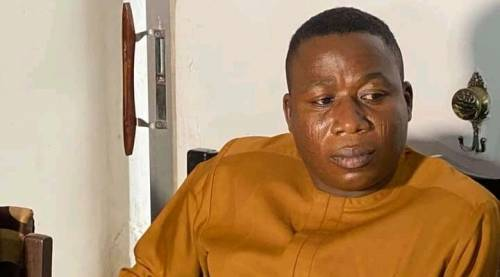 Sunday Igboho Surrendered Himself To Government, They Couldn't Arrest Him – Lawyer