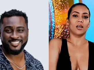 """#BBNaija: """"I Don't Like You"""" – Maria Turns Down Pere After He Declared His Intentions (Video)"""