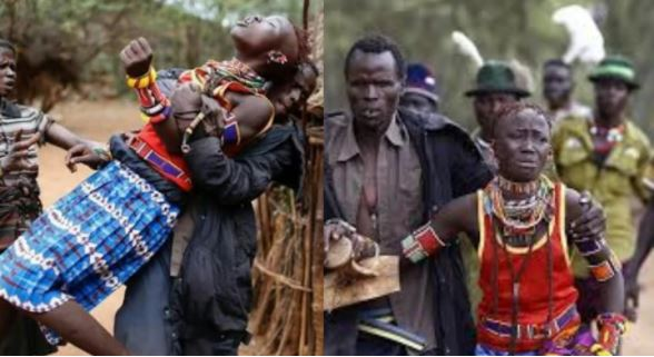 In Latuka, a man must kidnap any lady he likes for marriage and inform her father later