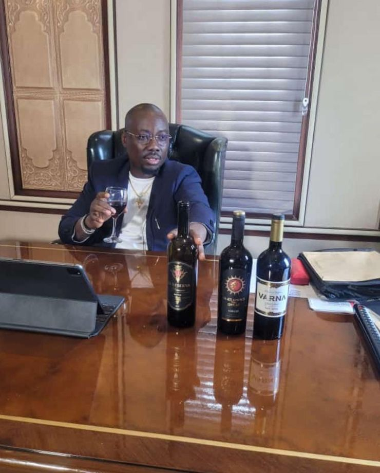 Obi Cubana set to launch his mansion and new wine brand in groundbreaking ceremony [Photos/Videos]
