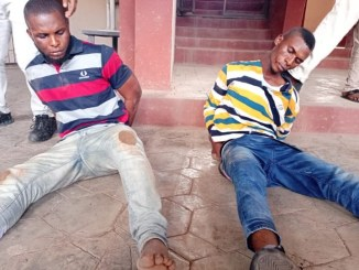 Two Brothers Arrested For Murder In Ondo (Photo)