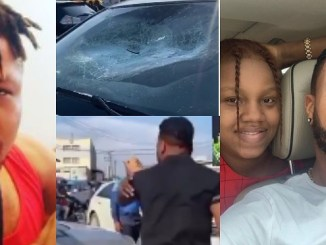 Charles Okocha Goes Mad After Spotting His Daughter Inside A Car With A Man
