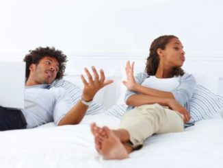 How can a man strike balance between his mother and wife?